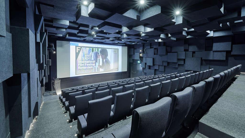 Een filmzaal die indruk maakt